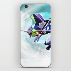Evangelion Unit 01 - Shinji Ikari's Ride. The Digital Painting. iPhone & iPod Skin