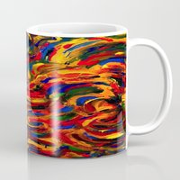 discount Mugs featuring discount sand by Lea - Lu
