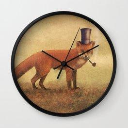 Crazy Like a Fox  Wall Clock