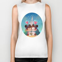 glee Biker Tanks featuring Sweet Day by Sunshunes