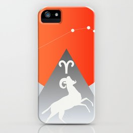 Aries iPhone Case