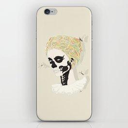 Skull Arlequin iPhone Skin