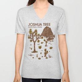 Joshua Tree National Park Unisex V-Neck