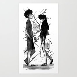 Travel Buddy Art Print