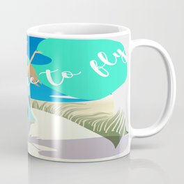 Teach Me To Fly Coffee Mug