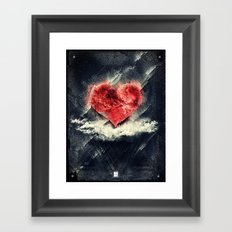Tan Vacio Framed Art Print