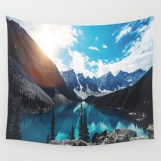 Lake Moraine Wall Tapestry