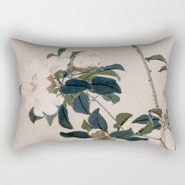Insects and Flowers Rectangular Pillow