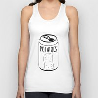 potato Tank Tops featuring Potato Soda by SaraJeanPotatoes