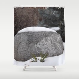 Snowcapped Shower Curtain