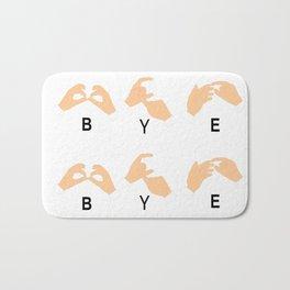 ByeBye Bath Mat