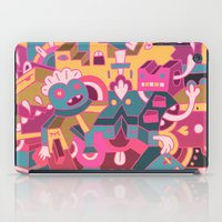 cartoons iPad Cases featuring Dear Clarence by Mister Phil