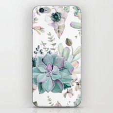 Succulent Garden iPhone Skin