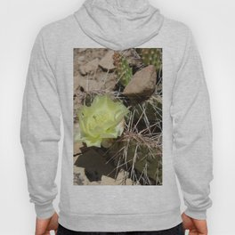 Cactus with Yellow Flower Hoody