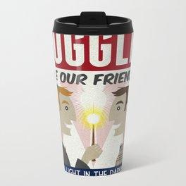 Muggles Are Our Friends (HP Propaganda Series) Metal Travel Mug