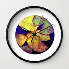 lily pads IIX Wall Clock