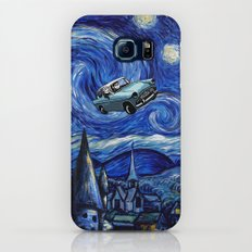 Harry And Ron on The Flying Car Galaxy S7 Slim Case