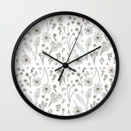 Zoned Out Wall Clock
