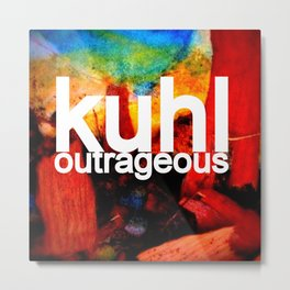 Kuhl's Circus Of Outrageous Album Cover Metal Print