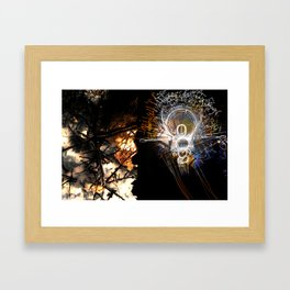 Vibrating Thought Affects the Physical Framed Art Print