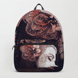 Obey Me: Blood (graffiti flower woman profile) Backpack