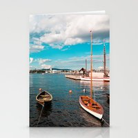 oslo Stationery Cards featuring Oslo Boats by Léon