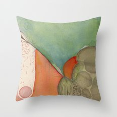 Descend Throw Pillow