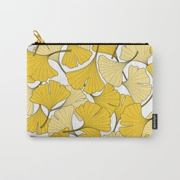 ginkgo leaves (yellow) Carry-All Pouch