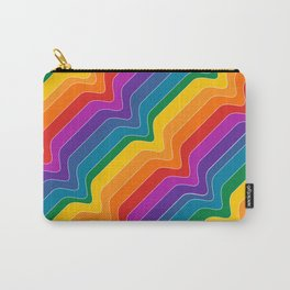 Rainbow Wave Carry-All Pouch