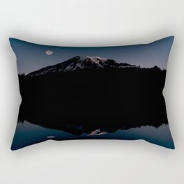 Sunrise over Mount Rainier. Rectangular Pillow