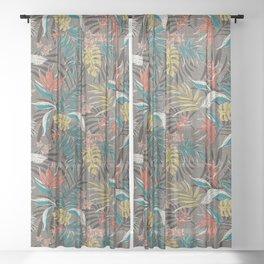 Bali Tropics - Cabana Sheer Curtain