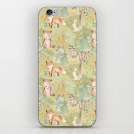 Woodland Nursery - Woodland Friends iPhone Skin