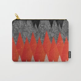 Texture of the mountains Carry-All Pouch