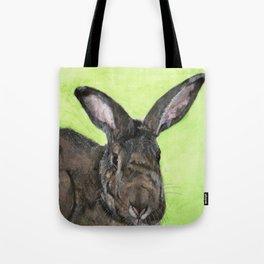 Tango the rescue rabbit Tote Bag