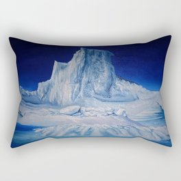 Antartic Landscape Rectangular Pillow