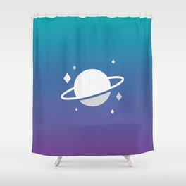 Planetary III Shower Curtain