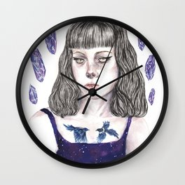 Crystal Nights Wall Clock