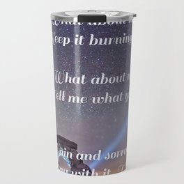 The Wound is The Place Where the Light Enters You - Rumi Travel Mug