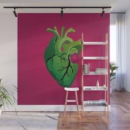 Corazón de Nopal | Cactus Heart Wall Mural