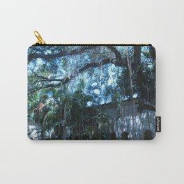 Spanish Monastery Raining Tree Carry-All Pouch