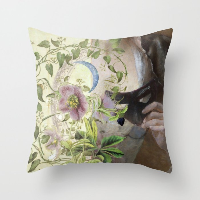 One Night in Venice Throw Pillow
