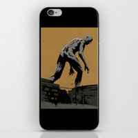 iron giant iPhone & iPod Skins featuring Giant by Matthew Dunn