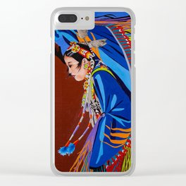 Shaw Dancer #2 Clear iPhone Case