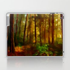 Morning In The Woods - Painting Style Laptop & iPad Skin