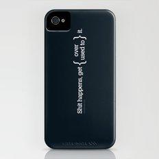 Shit Happens iPhone (4, 4s) Slim Case