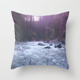 maligney water Throw Pillow