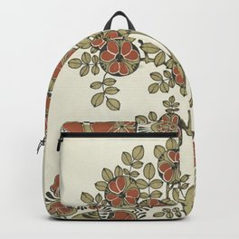 Ornate tree pattern Backpack