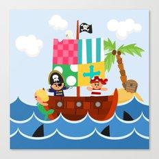 PIRATE SHIP (AQUATIC VEHICLES) Canvas Print