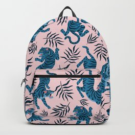 Blue asian tigers Backpack