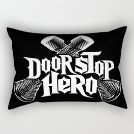 Door Stop Hero Rectangular Pillow